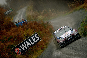 Evgeny Novikov FIA World Rally Championship Great Britain - Day Three