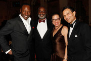 (L-R) Gregory Generet, Willis Burton, Julianne Malveaux and Khephra Burns attend the Torch Ball hosted by Evidence, A Dance Company at The Plaza Hotel on March 25, 2013 in New York City.