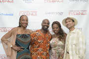 "Susan Taylor , Ron Brown, Star Jones and Khephra Burns attend the Evidence, A Dance Company Hosts 9th Annual ""On Our Toes""...In the Hamptons Summer Benefiton August 18, 2012 in Bridgehampton, New York."