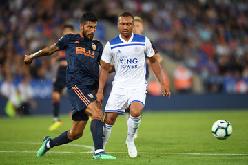 Ezequiel Garay Leicester City vs. Valencia - Pre-Season Friendly