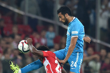 Ezequiel Garay Spartak Moscow vs Zenit St. Petersburg - Russian Premier League