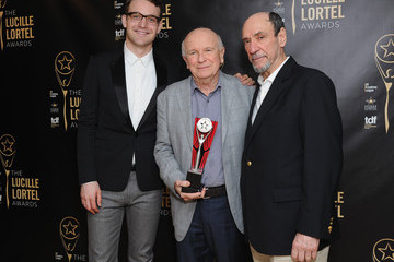 F. Murray Abraham Terrence McNally The 30th Annual Lucille Lortel Awards - Press Room