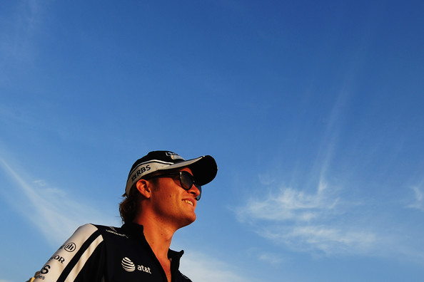 Nico Rosberg of Germany and Williams is seen during previews to the Abu Dhabi Formula One Grand Prix at the Yas Marina Circuit on October 29, 2009 in Abu Dhabi, United Arab Emirates.
