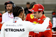 Lewis Hamilton and Charles Leclerc Photos Photo