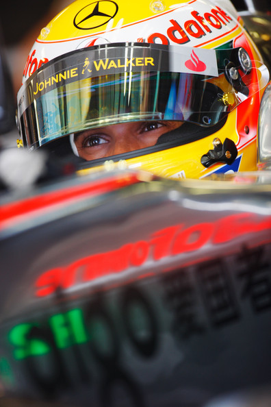 Lewis Hamilton of Great Britain and McLaren Mercedes prepares to drive during the final practice session prior to qualifying for the Hungarian Formula One Grand Prix at the Hungaroring on July 25, 2009 in Budapest, Hungary.