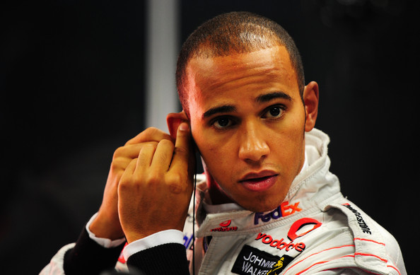 Lewis Hamilton of Great Britain and McLaren Mercedes prepares to drive during final practice prior to qualifying for the Singapore Formula One Grand Prix at the Marina Bay Street Circuit on September 26, 2009 in Singapore.