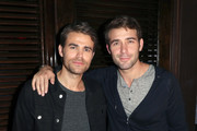 Paul Wesley (L) and James Wolk attend the Fandom Party during Comic-Con International 2018 at Float at Hard Rock Hotel San Diego on July 19, 2018 in San Diego, California.