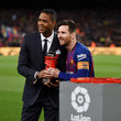 Lionel Messi and Patrick Kluivert Photos
