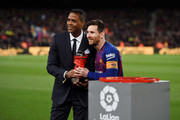 Lionel Messi and Patrick Kluivert Photos Photo