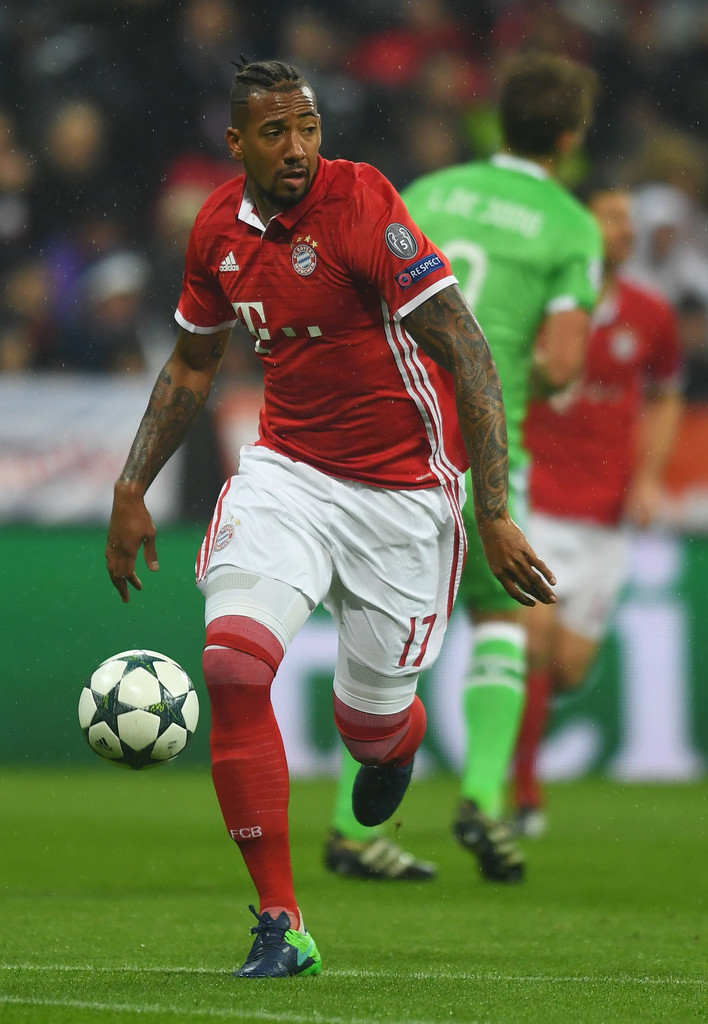 jerome boateng photos photos fc bayern muenchen v psv. Black Bedroom Furniture Sets. Home Design Ideas
