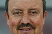 Interim Manager of Chelsea, Rafael Benitez looks on before the UEFA Europa League Round of 16 match between FC Steaua Bucuresti and Chelsea at the National Arena on March 7, 2013 in Bucharest, Romania.