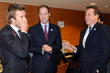 David Beckham Prince William FIFA World Cup 2018 & 2022 Host Countries Announced