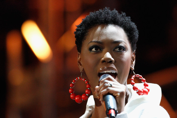 Lira South Africa singer Lira performs on stage during the FIFA World Cup Kick-off Celebration Concert at the Orlando Stadium on June 10, 2010 in Johannesburg, South Africa.