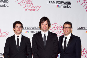 Andy Samberg Fred Armisen FIJI Water At MSNBC Correspondents' After Party