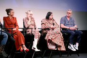 (L - R) Zendaya, Hunter Schafer, Barbie Ferreira and Eric Dane attend the premiere of HBO's Euphoria during the ATX Television Festival at the Paramount Theatre on May 6, 2019 in Austin, Texas.