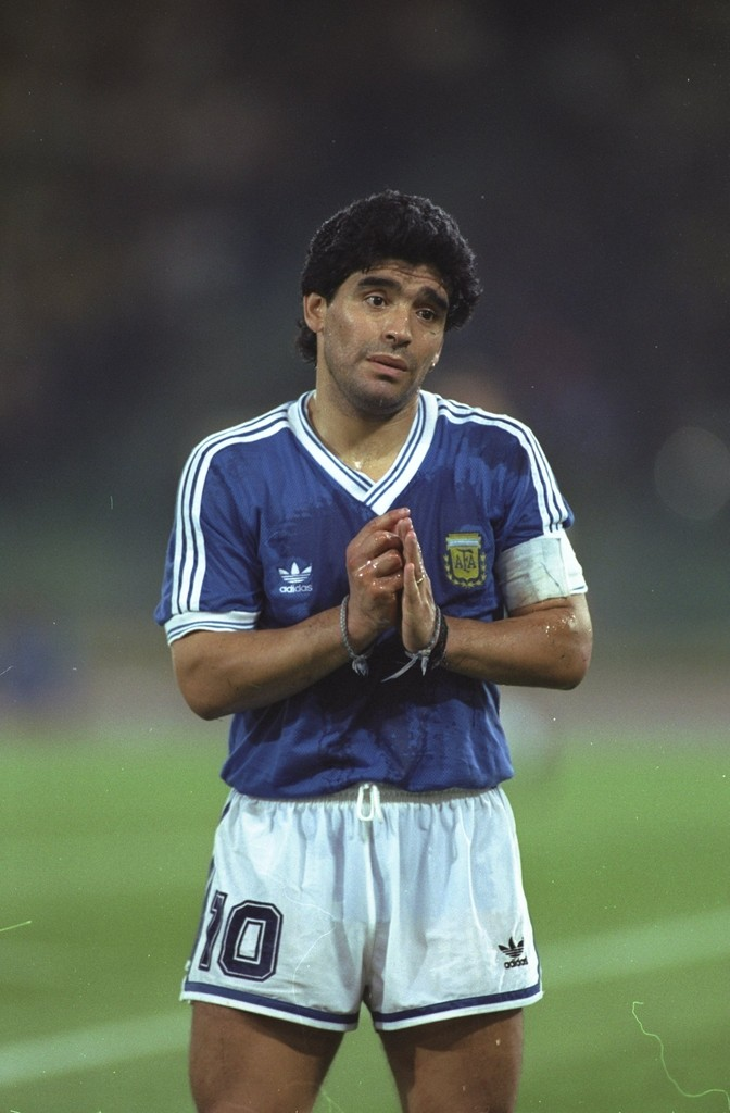 profile of maradona
