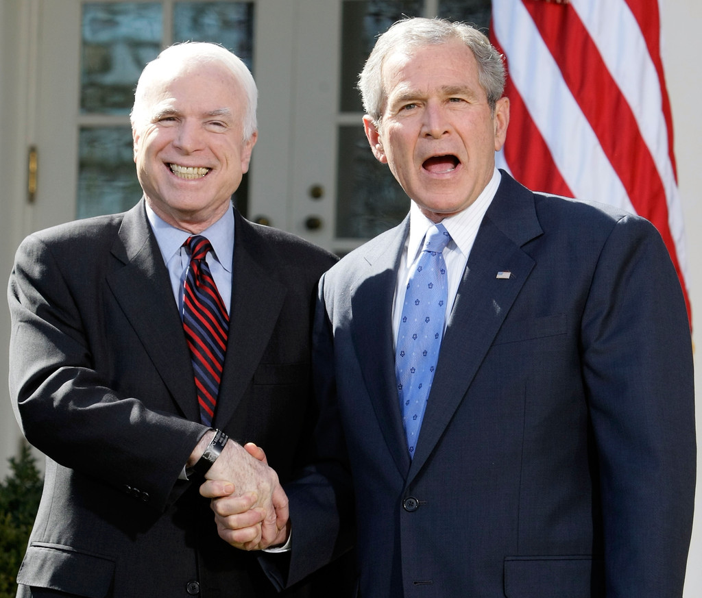 an introduction to the presidental election george w bush and john mccain