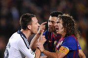 Carles Puyol Sergio Busquets Photos Photo