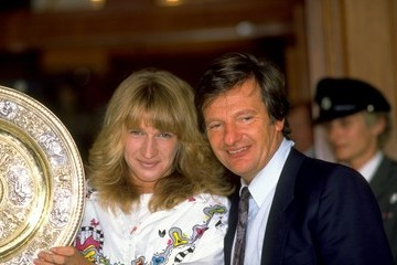 Steffi Graf (FILE) Peter Graf Dies at Age 75