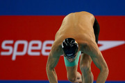 Pieter Timmers of Belguim competes in the Men's 200m Freestyle  finals during day two of the FINA Swimming World Cup Dubai 2016 at Hamdan Sports Complex  on October 5, 2016 in Dubai, United Arab Emirates.