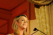 TV personality Deborah Norville speaks onstage during FIT's Annual Gala to Honor Dennis Basso, John and Laura Pomerantz and QVC at the Grand Ballroom at The Plaza Hotel on May 9, 2016 in New York City.