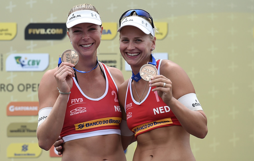 Madelein Meppelink Photos Photos - FIVB Beach Volleyball World Tour ...