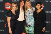 (L-R) Nina Easton, Pattie Sellers, founder of Spanx Sara Blakely and Stephanie Mehta attend the FORTUNE Most Powerful Women Summit on October 16, 2013 in Washington, DC.