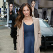 Minka Kelly at the 'Almost Human-hattan' Experience