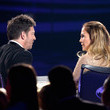 Jennifer Lopez and Harry Connick, Jr.