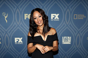 Actress Tamera Mowry attends the FOX Broadcasting Company, FX, National Geographic And Twentieth Century Fox Television's 68th Primetime Emmy Awards after Party at Vibiana on September 18, 2016 in Los Angeles, California.