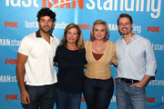 """(L-R) Jordan Masterson, Nancy Travis, Amanda Fuller and Christoph Sanders attend FOX Celebrating the premiere of """"Last Man Standing"""" with the """"Last Fan Standing"""" marathon event at Hollywood and Highland on September 20, 2018 in Hollywood, California."""
