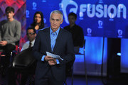 Journalist Jorge Ramos pictured onstage during the FUSION presents the Brown & Black Democratic Forum at Drake University on January 11, 2016 in Des Moines, Iowa.