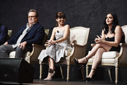 """(L-R) Actors Eric Stonestreet, Sarah Hyland and  Ariel Winter attend the FYC Event for ABC's """"Modern Family"""" at Avalon on April 16, 2018 in Hollywood, California."""