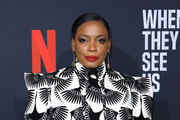 Actress Aunjanue Ellis attends FYC Event For Netflix's 'When They See Us' at Paramount Theater on the Paramount Studios lot on August 11, 2019 in Hollywood, California.