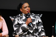 Actress Aunjanue Ellis speaks onstage during FYC Event For Netflix's 'When They See Us' panel at Paramount Theater on the Paramount Studios lot on August 11, 2019 in Hollywood, California.