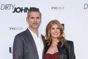 "Eric Bana and Connie Britton attend the FYC red carpet of Bravo's ""Dirty John"" at Saban Media Center on May 02, 2019 in North Hollywood, California."