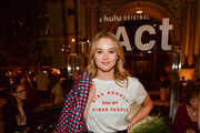 """Hunter King attends the FYC Screening For Hulu's """"The Act"""" at Paramount Studios on August 21, 2019 in Hollywood, California."""