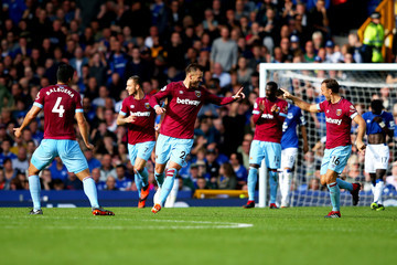 Fabian Balbuena Everton FC vs. West Ham United - Premier League