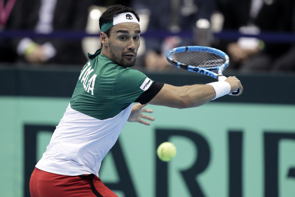 Japan v Italy - Davis Cup World Group 1st Round - Day 3