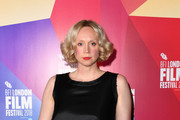 "Actress Gwendoline Christie attends the UK Premiere of ""In Fabric"" at the 62nd BFI London Film Festival on October 18, 2018 in London, England."