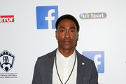 Simon Webbe arrives at the inaugural Facebook Football Awards on May 26, 2015 in London, England.