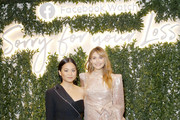 "Kelly Marie Tran and Elizabeth Olsen attends the Facebook Watch ""Sorry For Your Loss"" S2 Premiere at NeueHouse Hollywood on October 1, 2019 in Los Angeles, California."