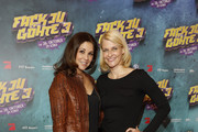 Karen Webb and Natascha Gruen attend the 'Fack ju Goehte 3' premiere at Mathaeser Filmpalast on October 22, 2017 in Munich, Germany.