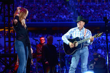 Faith Hill George Strait's The Cowboy Rides Away Tour Final Stop At AT&T Stadium - Show