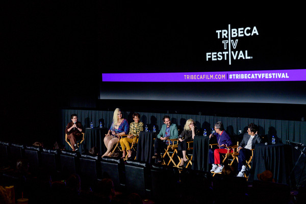'Transparent' Series Finale - 2019 Tribeca TV Festival [transparent series finale,performance,event,stage,performing arts,heater,night,musical theatre,talent show,theatre,performance art,jude dry,jill soloway,faith soloway,transparent,judith light,jay duplass,l-r,tribeca tv festival,panel discussion]