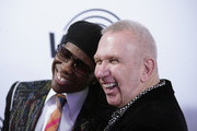 Nile Rodgers and Jean Paul Gaultier attend We Are Family Foundation honors Dolly Parton & Jean Paul Gaultier at Hammerstein Ballroom on November 05, 2019 in New York City.