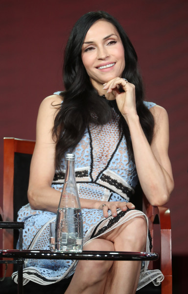 Famke Janssen - Famke Janssen Photos - 2017 Winter TCA ...