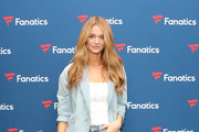 Kate Bock attends Michael Rubin's Fanatics Super Bowl Party at Loews Miami Beach Hotel on February 01, 2020 in Miami Beach, Florida.