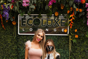Farrah Abraham ECOLUXE Awards Season Drive-Thru Luxury Experience