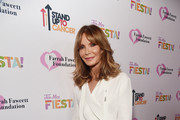 Jaclyn Smith attends the Farrah Fawcett Foundation's Tex-Mex Fiesta on September 06, 2019 in Los Angeles, California.